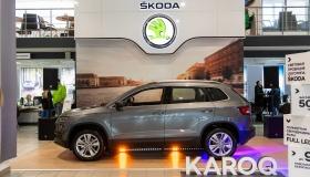 Автоцентр Злата презентовал новый SKODA KAROQ