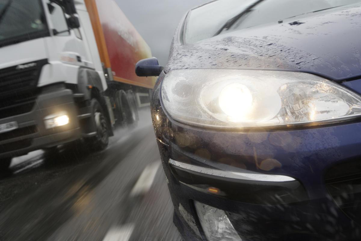 Штраф за ускорения при обгоне другого авто